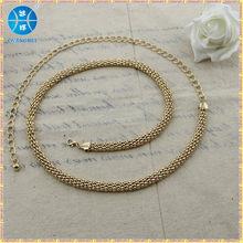 fashion chain belts for women ladies chain metal belts chain belt