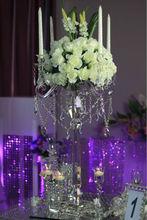 2014 New! wedding table centre piece crystal candelabra