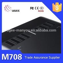 New Product Ugee-M708 USB Digital Writing Animation&Signature Pad