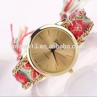2014 new design geneva vogue fashion lady watch