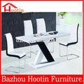 europa 2014 moderno mdf mesa de comedor conjuntos de sillas de comedor muebles