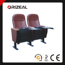 Orizeal canton fair folding auditorium chair with tablet OZ-AD-072