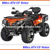 ATV 800cc 4x4 NEWEST EFI Shaft Drive Fully Automatic Transmission x8 CF Motor