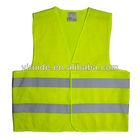 Popular high visibility reflex vest ENISO 20471 120g