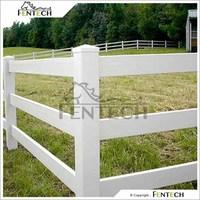 High Quality Useful Customzied Hot Dale PVC/Vinyl/Plastic Farm Fencing