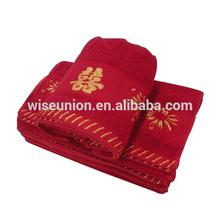 online microfiber custom make brand wedding gift towel