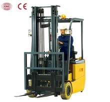 1.5 Ton CPD15S Electric Forklift Truck With Three Wheel