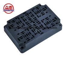 BX2021-1 two ways plastic car auto parts fuse box holder combination