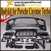 2011UP Car Front Bumper For Porsche Cayenne Turbo Style With OEM LED DRL Lights
