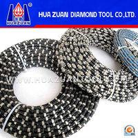 HUAZUAN diamond tools of Diamond Wire Saw For Concrete Cutting