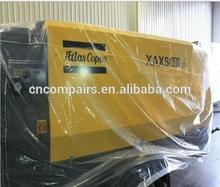 600cfm at 17bar pressure AtlasCopco XAXS600CD high pressure diesel engine portable air compressor
