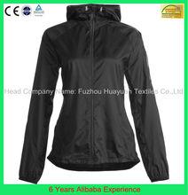 women's black nylon hooded windbreaker jacket plus size women - 6 Years Alibaba Experience