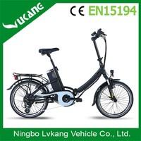 2015 New Style Brushless Motor Electric Bike Foldable