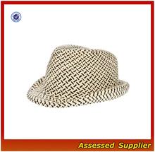 HX100 / Unisex Gender paper fedora / cheap fedora hats for men / felt vintage fedora