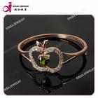 Fashion AAA cubic zirconia plating gold Bracelet