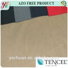 160gsm plain dyed twill 100% tencel fabric