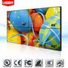 46 inch indoor advertising lcd screen, ultra narrow bezel lcd video wall