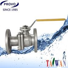 2-PC Class 300 LB RF Flange type ball valve