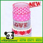 Manzawa decorative colorful washi paper tape landing craft