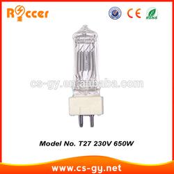 T/27 650W Leuchtmittel GCL GCS GY9,5 GY 230V - 240V Lamp lampada