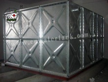 hot pressed Galvanized storage Water Tank with CE&ISO
