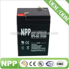 6V 4AH All Kinds of Dry Batteries For UPS