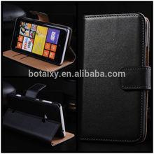 Luxury Genuine Leather Wallet Case For Nokia Lumia 625
