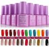 Hot sale purple bottle nail polish/ nail enamel for honeygirl