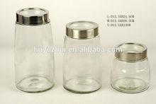 Vacuum glass herb storage jars, storage jars wholesale