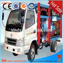 Inflatable cabin mobile truck 5d7d9d11d12d cinema equipment hot sale