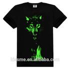 2014 new design fashionable glow in dark t shirts