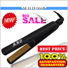 Hot selling floating plate ceramic hair straightener ionic infrared hair straightener PTC heater flat iron MHD-066B