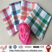 promotional 100% Cotton plain coloured tea towel,cheap bulk dish towel, kitchen towel