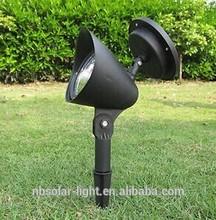 Outdoor 3 LED Solar Power Spotlight Landscape Spot Light Garden Lawn Flood Lamp