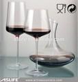 As04dc100l quiere comprar cosas de china! Sin plomo de cristal de vidrio de vino tinto decantadores! Singular de cristal jarra de vino set