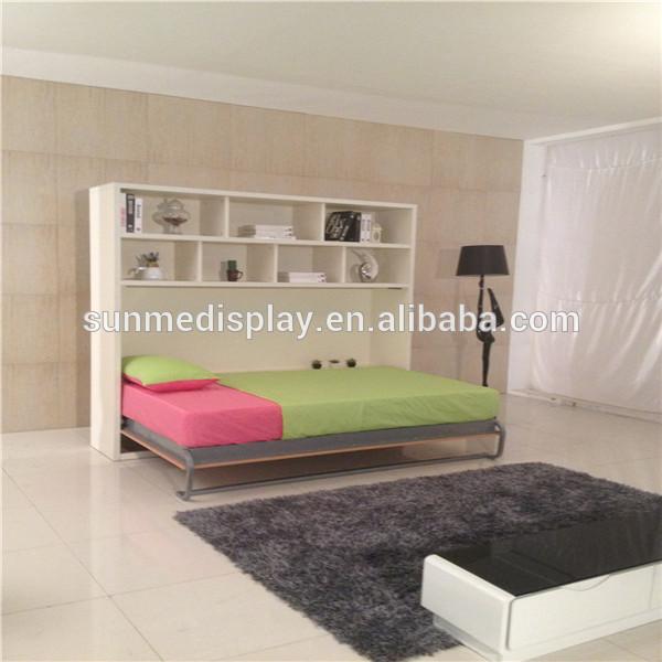 hei er verkauf neuen stil platzsparende faltwand bett. Black Bedroom Furniture Sets. Home Design Ideas