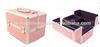 aluminum makeup case, aluminum beauty case,PVC cosmetic case