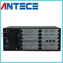 DVI Matrix Switcher 8 input 8 output RS232 seamless switcher