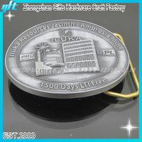 Old Silver Belt Buckles antique nickle plated Metal belt Buckles/Custom OEM Buckles GFT-BK10