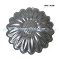 Fábrica de suprimentos da flor em forma de bolo assar pan, panela de alumínio, microondas pan cake, assadeiras de alumínio