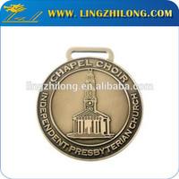 Metal cheap antique copper religious medals