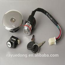 GN125 motorcycle ignition lock set for suzuki parts