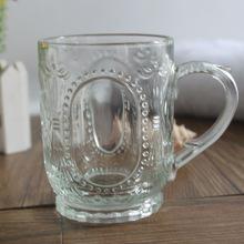 Hot sale Glass Mug,Glass Beer Mug,Cup with Handle