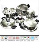 Stainless Steel Cookware Set 15 Piece SC577