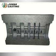 sand casting gray iron vacuum pump cylinder