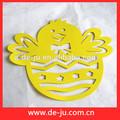 amarelo halloween forma de ovo ovo de aves design ovo eva adesivos decoração