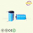 1/2AA Size 3.6V ER14250 Lithium Battery