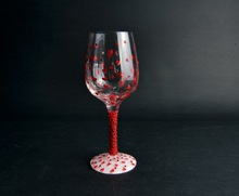 2014 best selling glass wine cup with low price