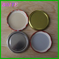 82mm metal lids for glass canning jars