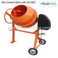 160L 800 W Mini mezclador de cemento con GS EMC